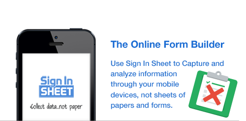 Sign In Sheet, Sign in Sheet App, Visitor Sign in sheet,