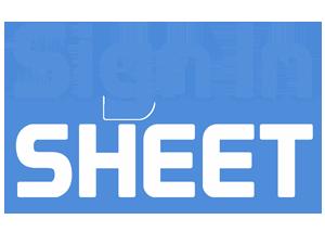 customer sign in sheet